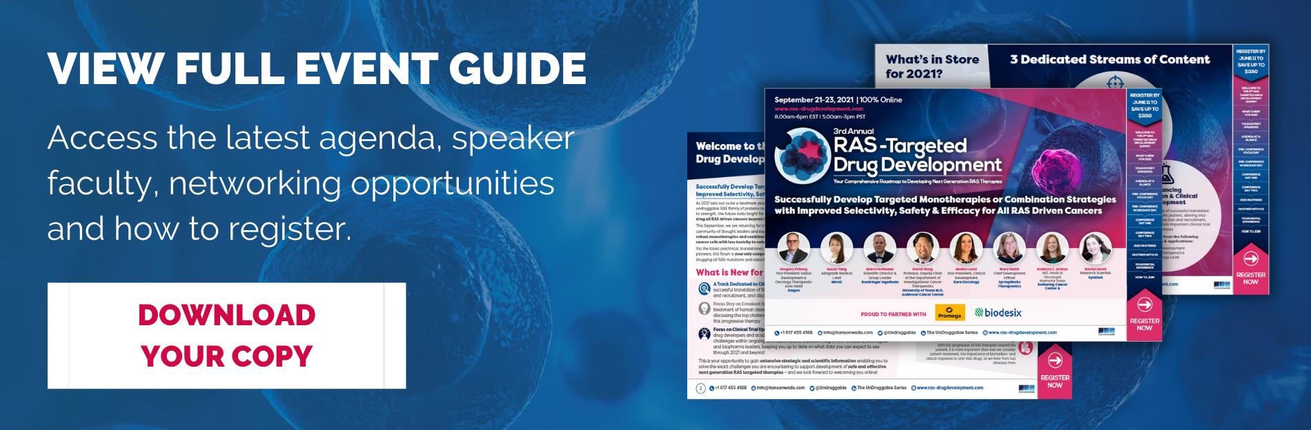 Ligase Targeting Drug Development - Download Event Brochure (3)